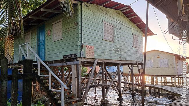 Mūsiškis namas virš Karibų jūros
