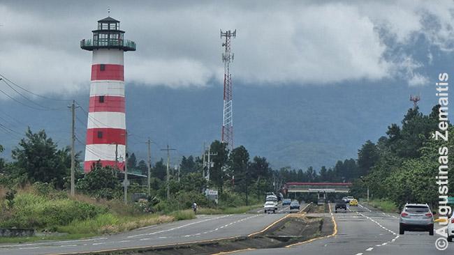 Kelias į Boketę Panamoje