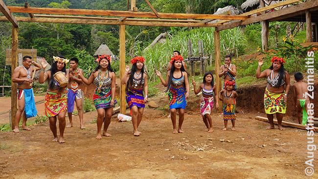 Panamos indėnų kaimai