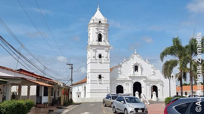 Sena bažnyčia Azuero pusiasalyje