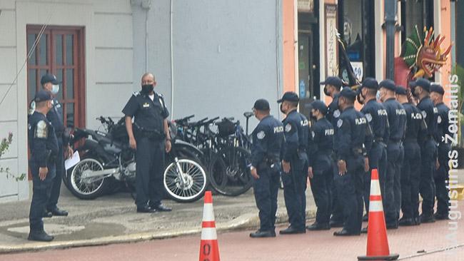 Turizmo policija Panamos senamiestyje
