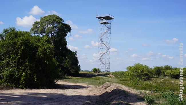 Apžvalgos bokštas prie Poso Alegre ložės
