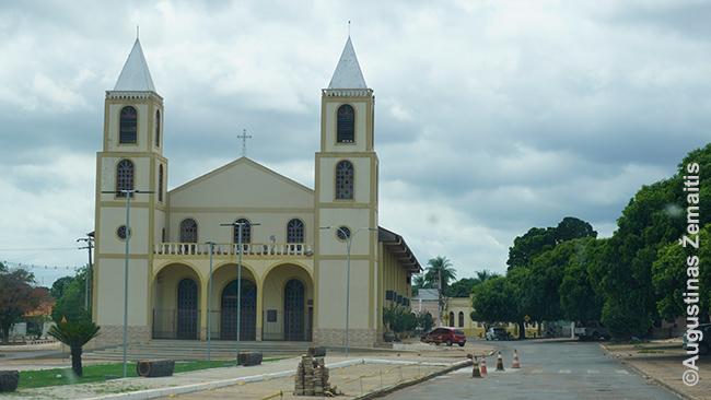 Perstatyta Pokonės miesto bažnyčia