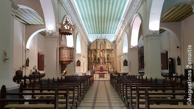 Asunsjono katedros kuklus vidus
