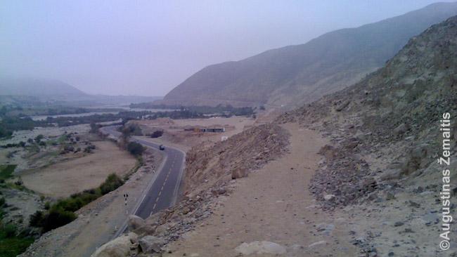 Inkų kelias ateina į Tambo Koloradą