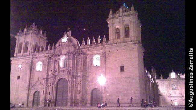 Kusko katedra Peru