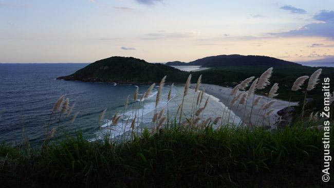 Ilha do Mel panorama nuo švyturio