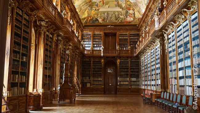 Strahovo vienuolyno biblioteka Prahoje