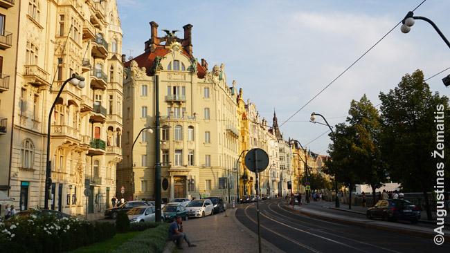 Prahos krantinė