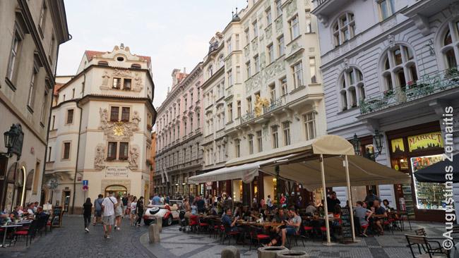 Prahos senamiesčio gatvė
