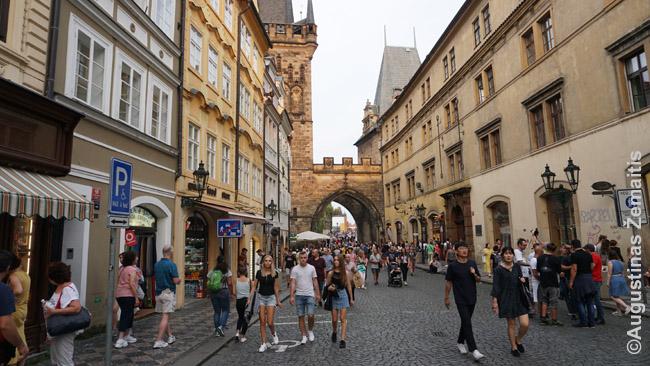 Prahos centro gatvė