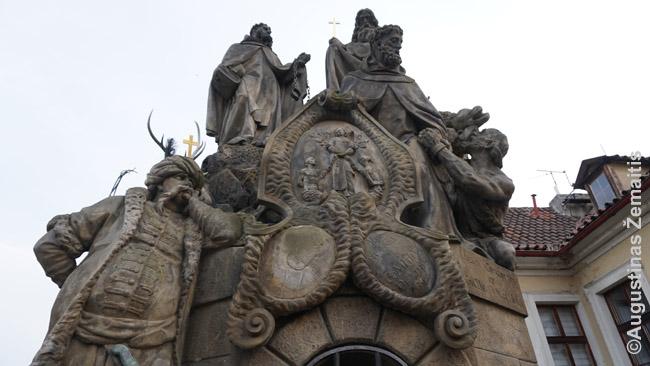 Viena daugybę šimtmečių skaičiuojančių tūkstančių Prahos grožybių