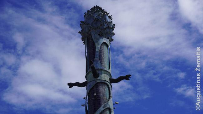 Resifės Krištolo bokšto viršūnė