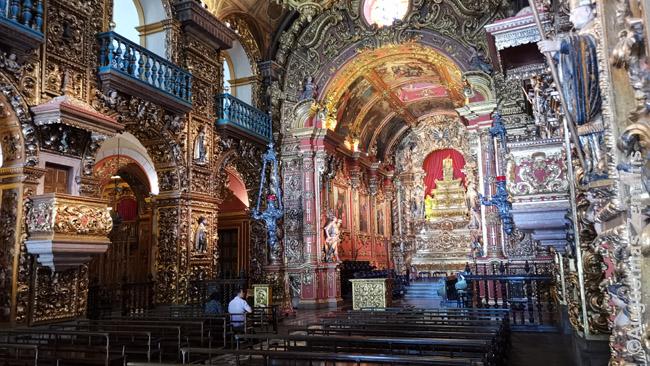Dar labiau nei kur Europoje išauksuota katalikų bažnyčia Rio de Žaneire