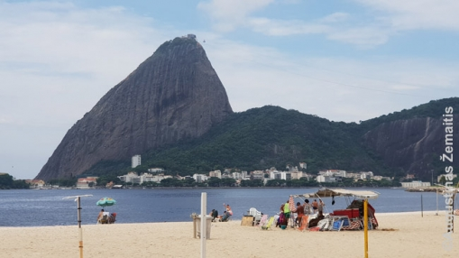 Flamengo paplūdimio panorama