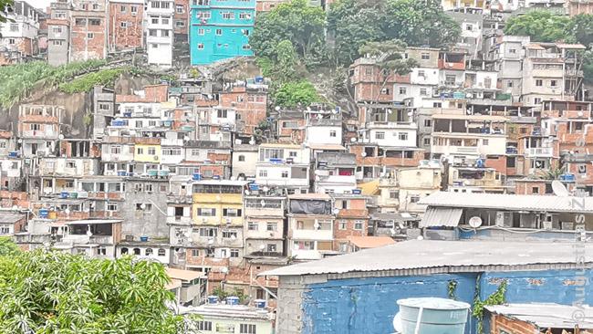 Rio de Žaneiro favela