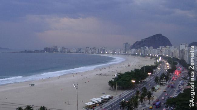 Kopakabanos paplūdimys Rio de Žaneire