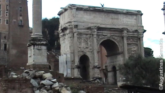 Triumfo arka Romoje