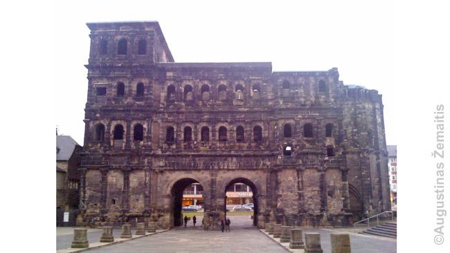 Romėnų miesto vartai. Tryras, dabartinė Vokietija