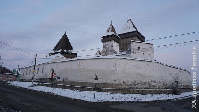 Įtvirtinta Transilvanijos bažnyčia