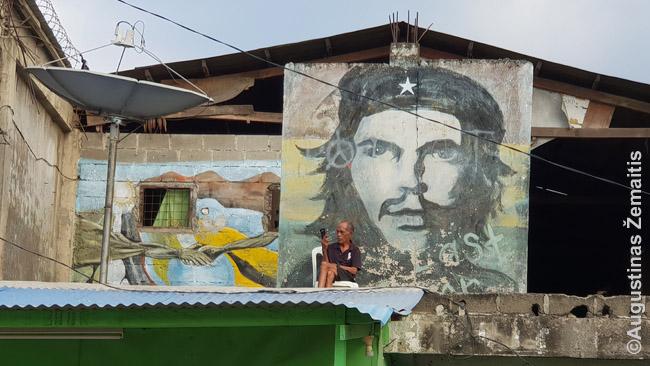 Če Gevaros atvaizdas. Kai kuriems timoriečiams komunistai dar, matyt, didvyriai, bet šiaip šalis visai ne komunistinė