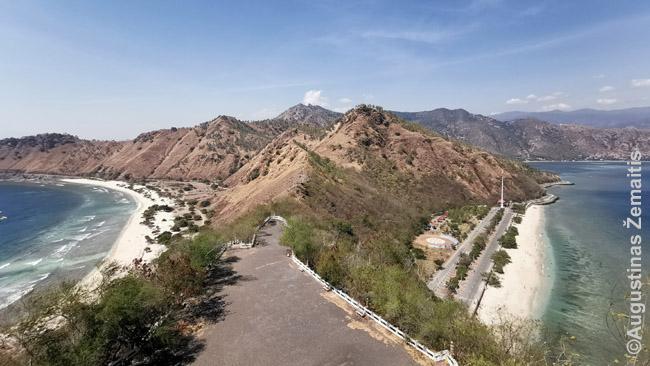 Vaizdas nuo Kristaus Karaliaus kalvos prie Dilio