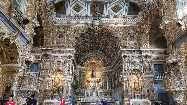 Šv. Pranciškaus bažnyčios auksinis vidus