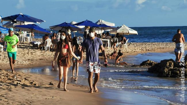 Salvadoro paplūdimyje