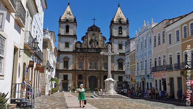Šv. Pranciškaus bažnyčia - viena garsiausių Salvadore