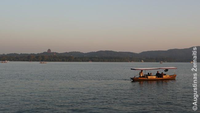 Garsusis Hangdžou vakarinis ežeras