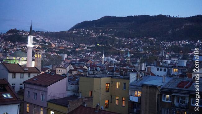 Vaizdas pro Sarajevo buto langą