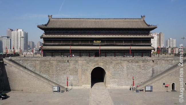 Vieni iš Siano miesto sienos vartų