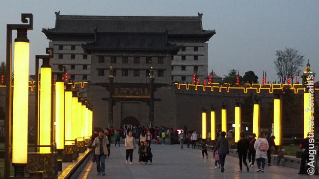 Siano Sienos pietiniai vartai