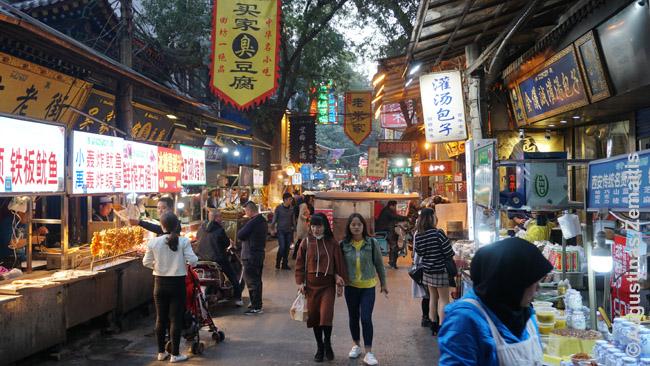Musulmonų rajone - didelis tradicinis turgus