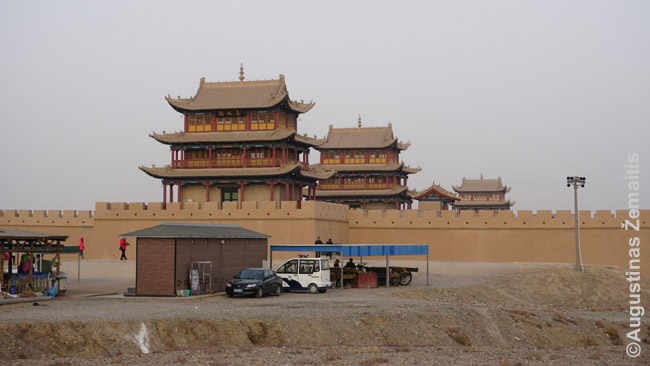 Džiajuguano fortas - Kinų sienos pabaiga