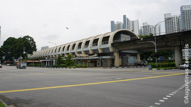 Miegamojo rajono, kuriame visos tautybės apgyvendinamos pramaišiui, metro stotis