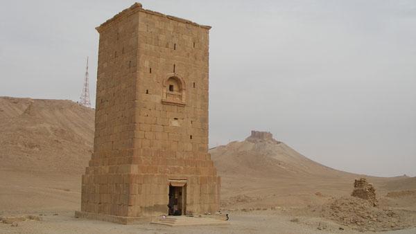 Bokštinis kapas Palmyroje (Sirija)