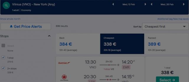 Kaip ir kur pirkti lėktuvo bilietus