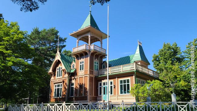 Medinė vila Suomijoje
