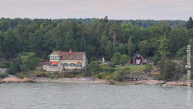 Namai vienoje Suomijos salų