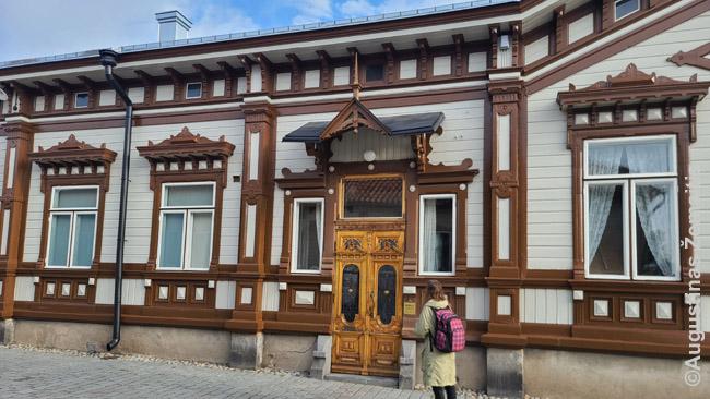Įspūdinga Raumos medinė architektūra