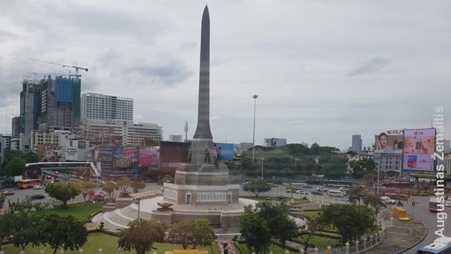 Pergalės paminklas Bankoke