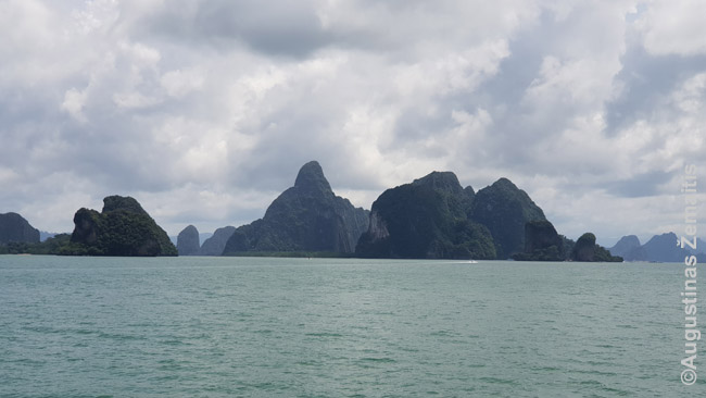 Ao Phang Nga uolos