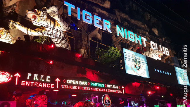Spindintis Puketo naktinis klubas
