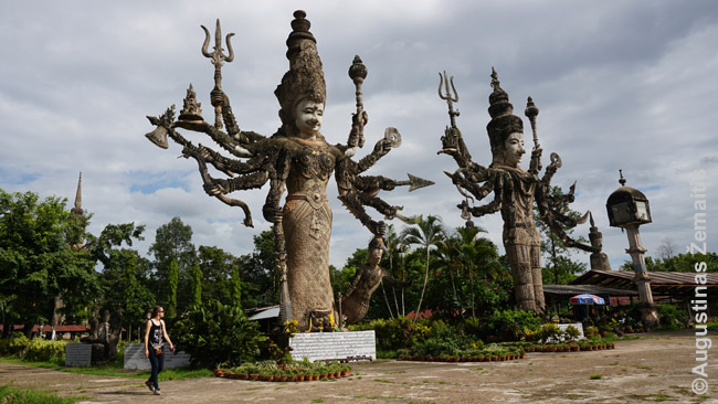 Pora Sala Keoku skulptūrų