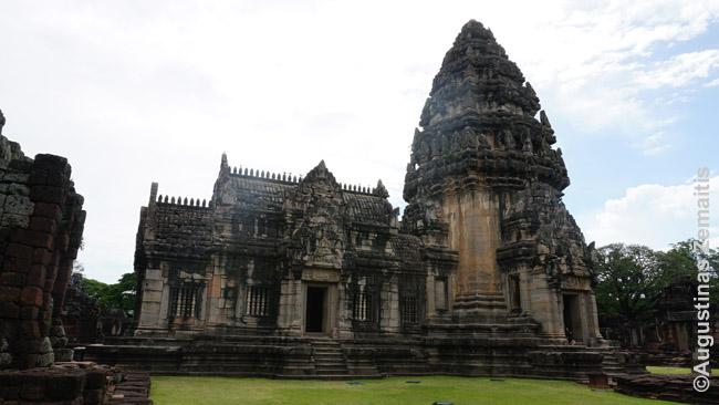 Phimajaus kmerų šventyklos parasadas
