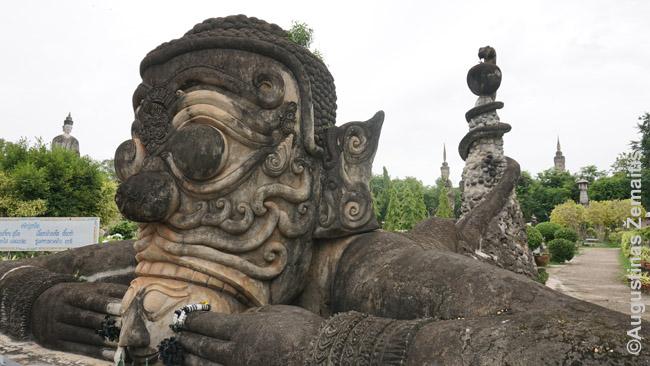 Viena Sala Keoku skulptūrų