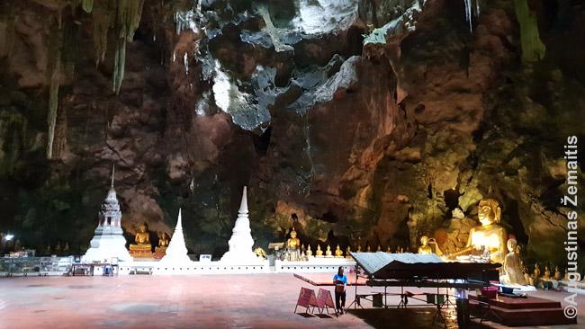Viena iš Tam Khao Luang olos erdvių