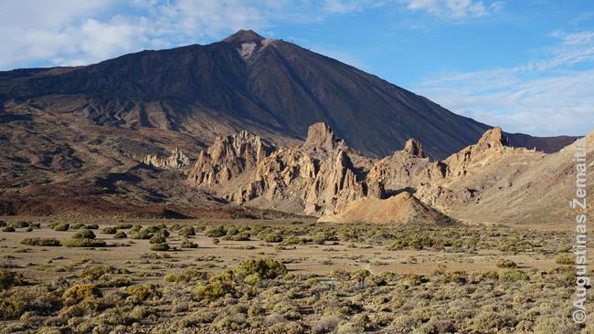 Teidės vulkanas Tenerifėje