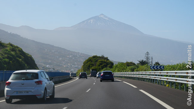 Automagistralės gale - Teidės vulkanas